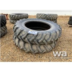 (2) GOODYEAR 18.4-38 TRACTOR TIRES