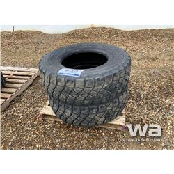 (2) BRIDGESTONE 385/65R22.5 TIRES