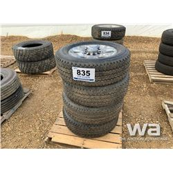 (4) FIRESTONE LT285/60R20 TIRES