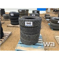 (4) GOODYEAR LT275/70R18 TIRES