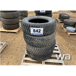 (4) 245/65R17 WINTER TIRES