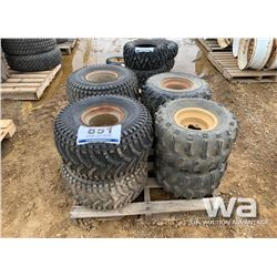 (8) ATV TIRES & RIMS