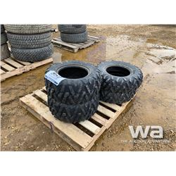 (4) ATV TIRES, 2 SMALL TIRES