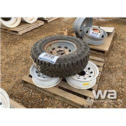WRANGLER LT265/75R16 TIRE & RIM