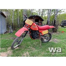 1983 HONDA 500 DIRT BIKE