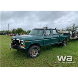 1979 FORD F250 CREW CAB PICKUP