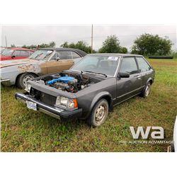 1985 MAZDA GLL CAR