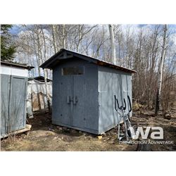 8 X 12 FT. STORAGE SHED