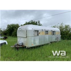 1966 SILVER STREAK CONTINENTAL TRAVEL TRAILER