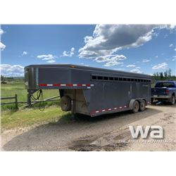 2005 SOUTHLAND T/A 5TH WHEEL STOCK TRAILER