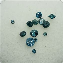 LOOSE BLUE DIAMONDS