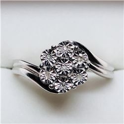 7 DIAMOND RING SIZE 7