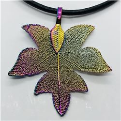 FASHION JEWELRY LEAF NECKLACE