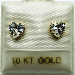 9K CZ EARRINGS