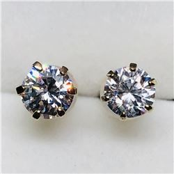 10K CZ EARRINGS
