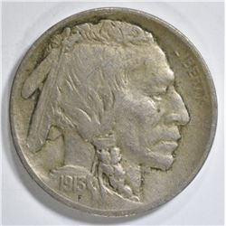 1913-S T-1 BUFFALO NICKEL XF