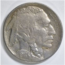 1914-D BUFFALO NICKEL VF