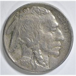 1915-D BUFFALO NICKEL VF/XF