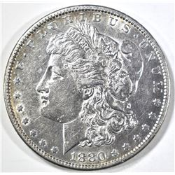 1880-O MORGAN DOLLAR AU/BU