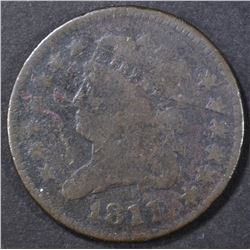 1811 HALF CENT  G/VG