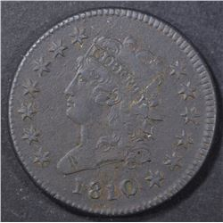 1810 LARGE CENT  XF  DARK