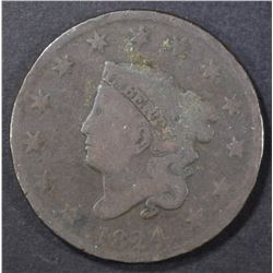1824 LARGE CENT  GOOD