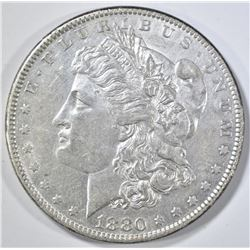 1880-O MORGAN DOLLAR AU
