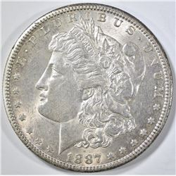 1887-S MORGAN DOLLAR AU/BU