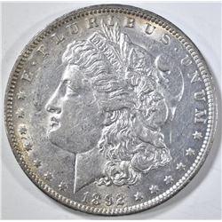 1892 MORGAN DOLLAR CH AU