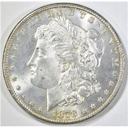 1878-S MORGAN DOLLAR CH/GEM BU REV IS PROOF LIKE