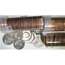 3 ROLLS WASHINGTON QUARTERS 68-P D & S-PROOF