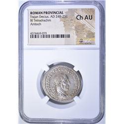 249-251 AD. ROMAN PROVINCIAL TRAJAN DECIUS