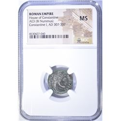 307-337 AD.  ROMAN EMPIRE HOUSE OF CONSTANTINE
