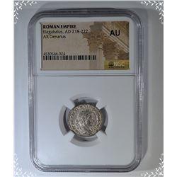 218-222 AD.  ROMAN EMPIRE  ELAGBALUS
