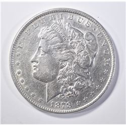 1878 8TF MORGAN DOLLAR AU