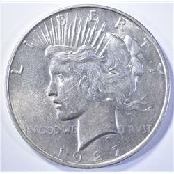 1927-D PEACE DOLLAR   CH BU