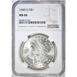 1900-O MORGAN DOLLAR  NGC MS-66