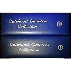 U.S. POSTAL SOCIETY STATE QUARTER ALBUMS