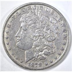 1878 7TF REV 78 MORGAN DOLLAR CH AU