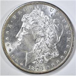1879-S MORGAN DOLLAR GEM BU