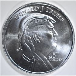 DONALD TRUMP/WHITE HOUSE 1oz SILVER ROUND