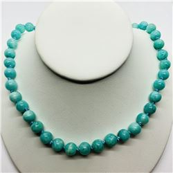 NATURAL AMAZONITE NECKLACE