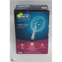 ORAL B PROFESSIONAL RECHARGEABLE TOOTHBRUSH