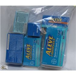 BAG OF ALEVE AND MORE