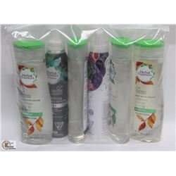 BAG OF ASSORTED HERBAL ESSENCE HAIR PRODUCTS