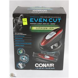 CONAIR EVEN CUT LITHIUM ION FOR MEN HAIR TRIMMER