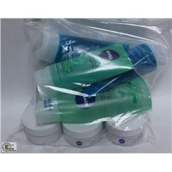 BAG OF ASSORTED NIVEA PRODUCTS INCL