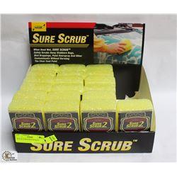 BOX OF SURESCRUB SPONGES