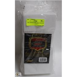 TWO 12PACK SCUFF AWAY SPONGES