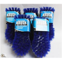 BOX OF 5 DELUXE INTERIOR BRUSHES